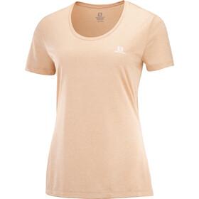 Salomon Agile SS skjorte Damer, orange